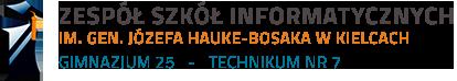 Zespół Szkół Informatycznych w Kielcach - Technik Informatyk