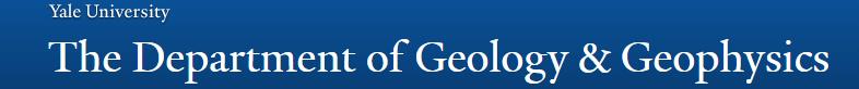 Yale University - Geology and Geophysics