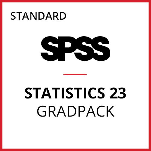 IBM® SPSS® Statistics Standard GradPack 23 for Windows (06-Mo Rental)