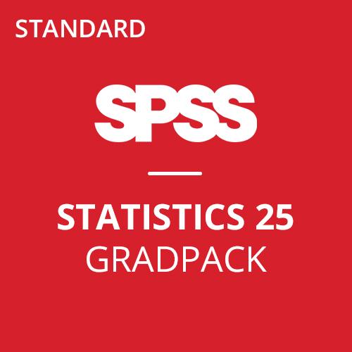 IBM® SPSS® Statistics Standard GradPack 25 for Windows (06-Mo Rental)
