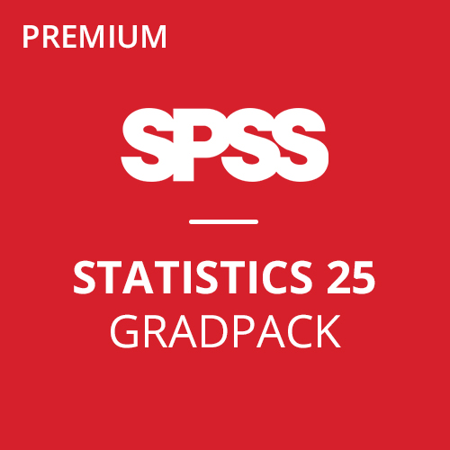 IBM® SPSS® Statistics Premium GradPack 25 for Mac (12-Mo Rental)