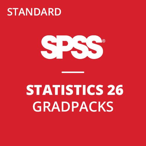 IBM® SPSS® Statistics Standard GradPack 26 for Mac (12-Mo Rental)