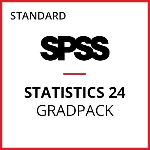 IBM® SPSS® Statistics Standard GradPack 24 for Windows (12-Mo Rental)