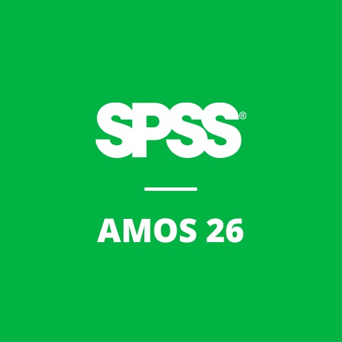 IBM® SPSS® Amos GradPack 26 for Windows (12-Mo Rental)