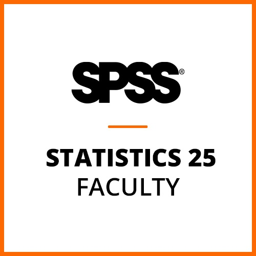 IBM® SPSS® Statistics Faculty Pack 25 for Mac (12-Mo Rental)