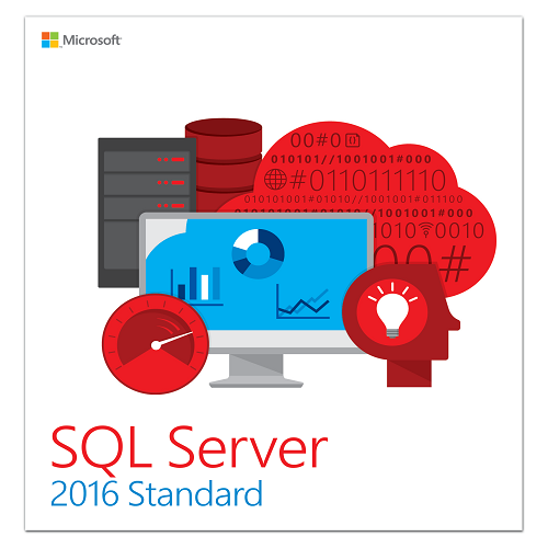 SQL Server 2016 Standard With Service Pack 1 64-bit (English) - Microsoft Imagine