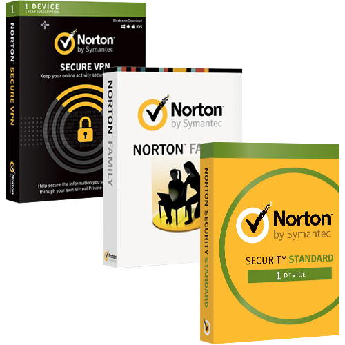 Norton Security + Secure VPN + Family Premier (1 year, 1 device)