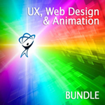 Total Training UX, Web Design & Animation Bundle - Small product image