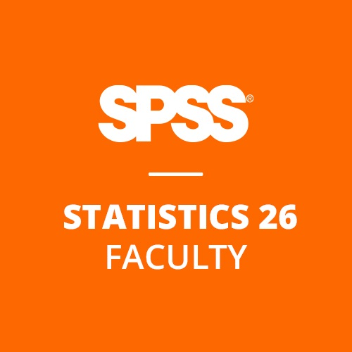 IBM® SPSS® Statistics Faculty Pack 26 for Windows (12-Mo Rental)