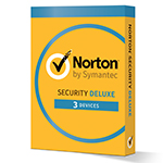Norton Security Deluxe (1 year, 3 devices) - 小さい製品イメージ