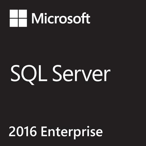 SQL Server 2016 Enterprise Core With Service Pack 1 64-bit (English) - Microsoft Imagine