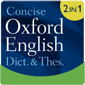 Concise Oxford English Dictionary & Thesaurus - Small product image