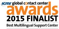 Kivuto is a 2015 finalist for Best Multi-Lingual Support Center category by Global Contact Center Awards.